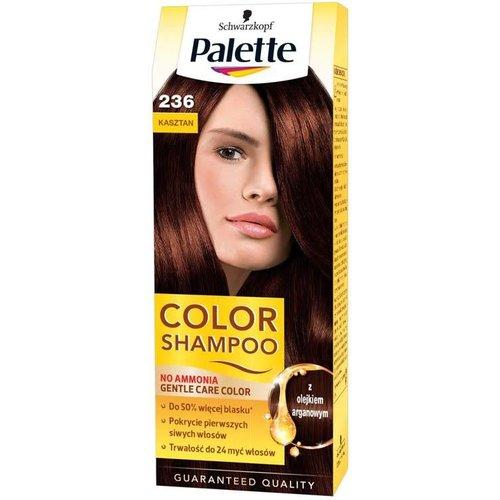 SCHWARZKOPF PALETTE- Color Shampoo Szampon Koloryzujacy Nr 236 Kasztan