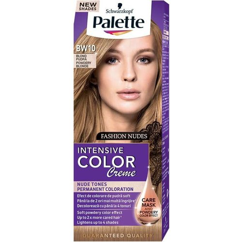 SCHWARZKOPF PALETTE- Intensive Color Creme Krem Koloryzujacy Nr BW10 Pudrowy Blond