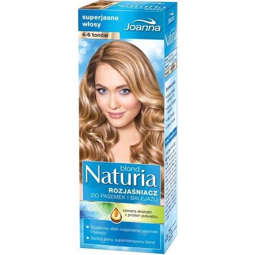 JOANNA Naturia Blond Rozjasniacz Do Pasemek i Balejazu 4-6 Tonow