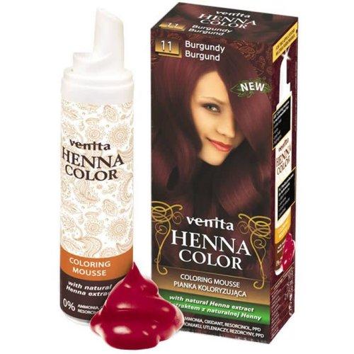 VENITA Henna Color Pianka Koloryzujaca Burgund 11