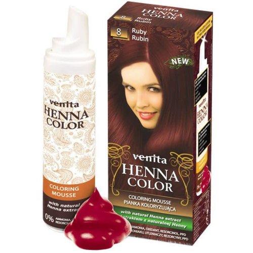 VENITA Henna Color Pianka Koloryzujaca Rubin 8