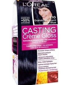 L'OREAL Casting Creme Gloss Farba do Włosów 210 Granatowa Czerń