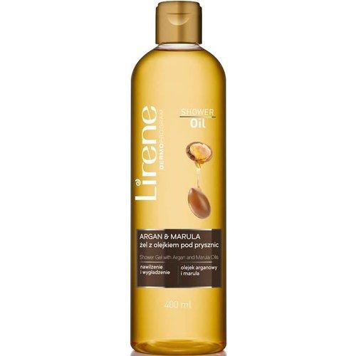 LIRENE Shower Oil Olejek Pod Prysznic Argan Marula 400ml