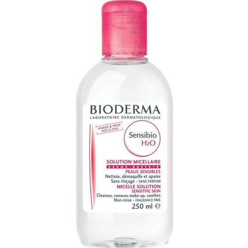 BIODERMA Sensibio H2O Plyn Micelarny Do Oczyszczania Twarzy i Demakijazu 250ml