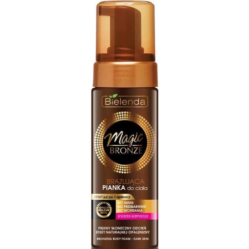 BIELENDA Magic Bronze Brazujaca Pianka Do Ciala Sniada Karnacja150ml