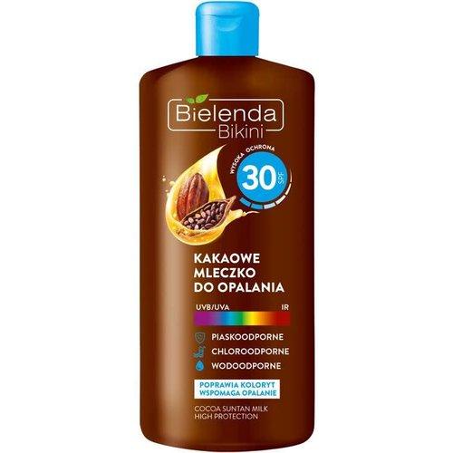 BIELENDA Bikini SPF 30 Kakaowe Mleczko Do Opalania 200ml