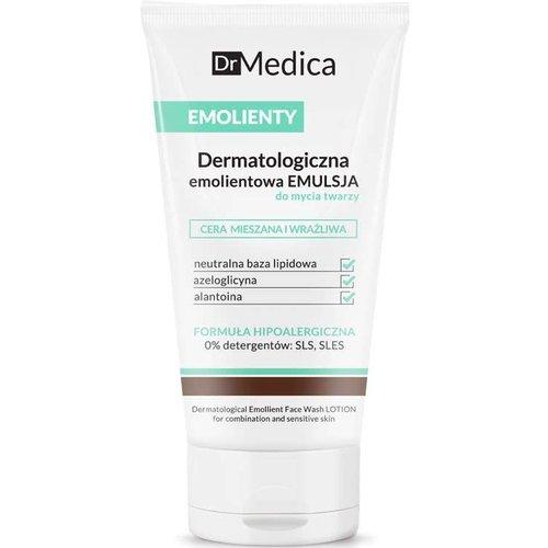 BIELENDA DR MEDICA- Emolienty Dermatologiczna Emolientowa Emulsja Do Mycia Twarzy Cera Mieszana i Wrazliwa 150ml