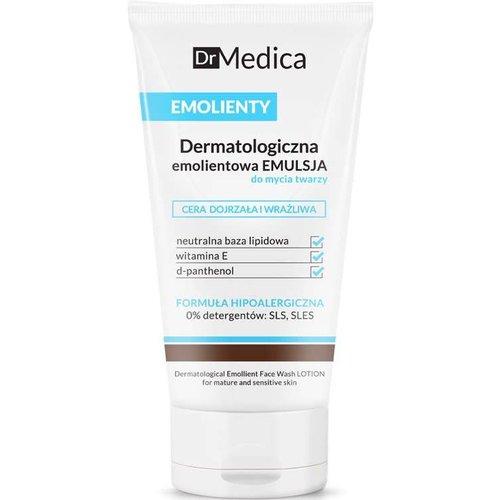 BIELENDA DR MEDICA-Emolienty Dermatologiczna Emolientowa Emulsja Do Mycia Twarzy Cera Dojrzala 150ml