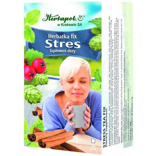 HERBAPOL Herbatka Fix Stres 20 sasz