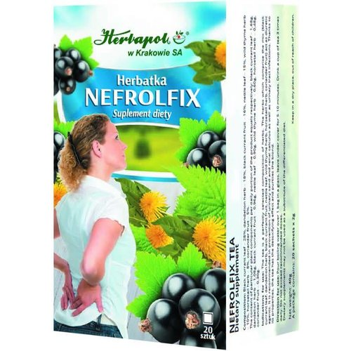 HERBAPOL Herbatka Nefrolfix 20 sasz