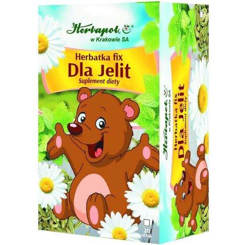 HERBAPOL Herbatka Fix Dla Jelit 20 sasz