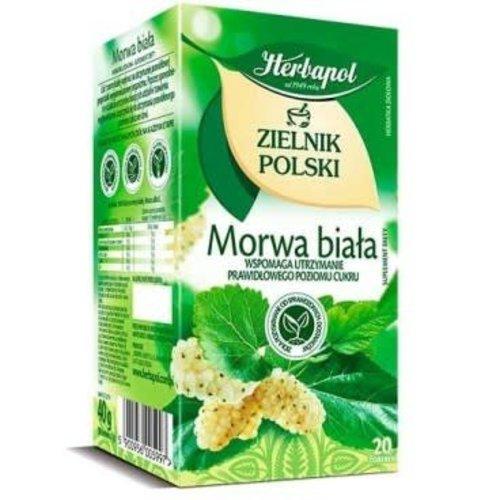 HERBAPOL Morwa Biala Herbata Ziolowa 20 sasz