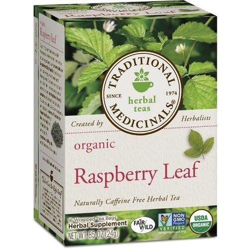 TRADITIONAL MEDICINALS Organic Raspberry Leaf 16Tea Bags