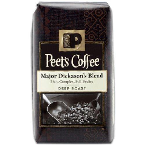 PEET'S COFFEE Whole Bean Major Dickason's Blend Deep Roast 907g