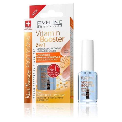 EVELINE Vitamin Booster Odzywka + Baza Pod Lakier 12ml