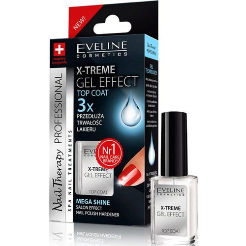 EVELINE X-Treme Gel Effect Top Coat 12ml