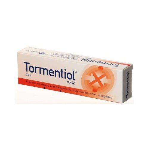 OMEGA PHARMA TORMENTIOL- Masc Przeciwbakteryjna Przeciwzapalna 20g