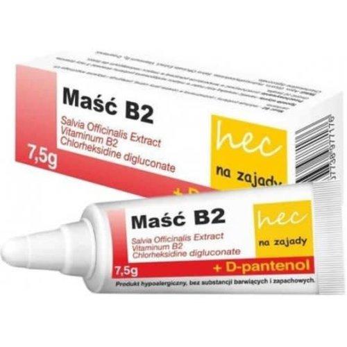 HECPHARMA MASC B2- Masc Na Zajady z Witamina B2 7.5g