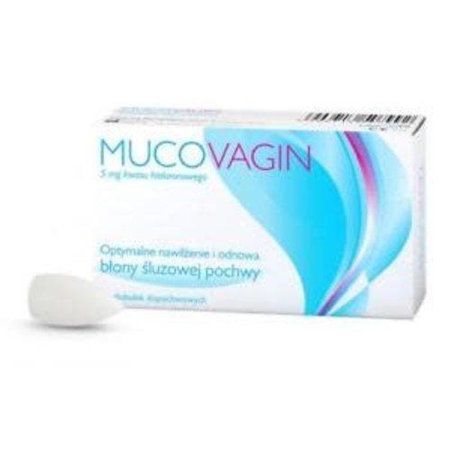 VERCO MUCOVAGIN- Globulki Nawilzajace 5 mg Kwas Hialuronowy 10 globulek