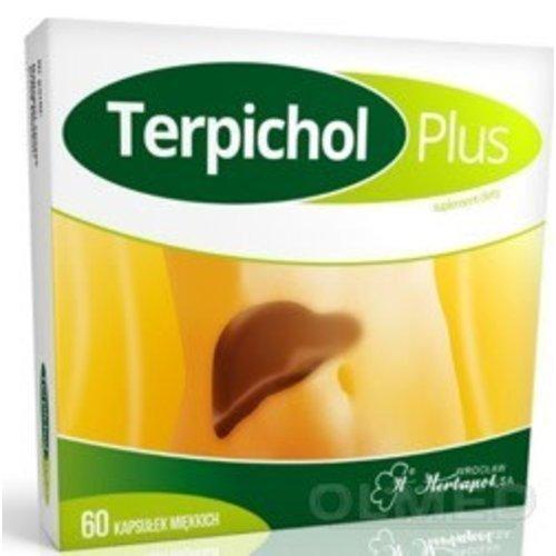 HERBAPOL TERPICHOL PLUS- Wspomaganie Watroby i Trawienia 60 kaps