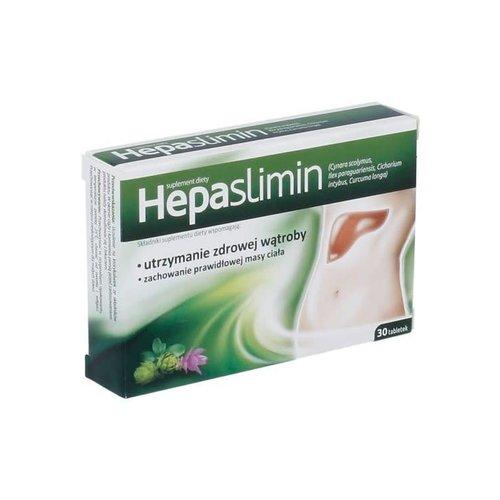 AFLOFARM HEPASLIMIN- Utrzymanie Zdrowej Watroby 30 tabl