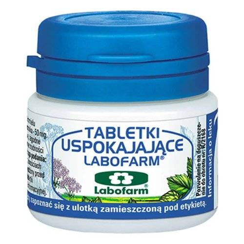 LABOFARM Tabletki Uspokajajace 20 tabl