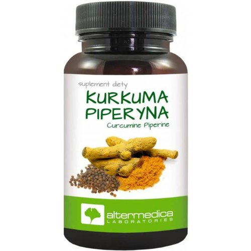 ALTERMEDICA Kurkuma Piperyna 60 kaps