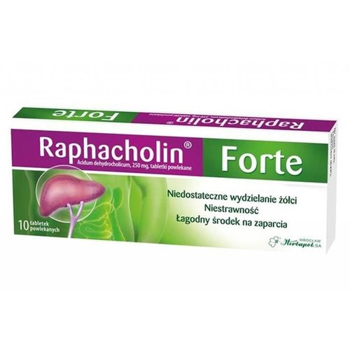 HERBAPOL RAPHACHOLIN- Forte 10 tabl
