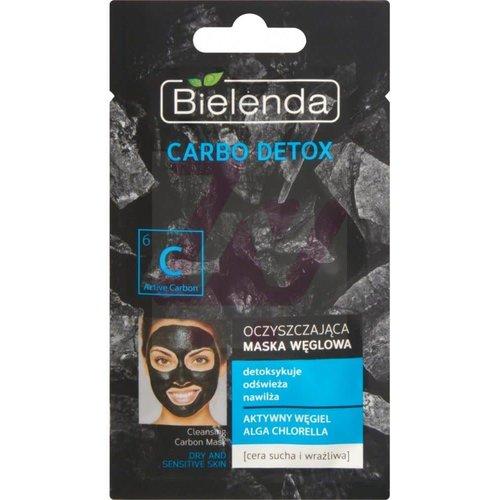 BIELENDA Carbo Detox Maska Weglowa Alga Chlorella 8g