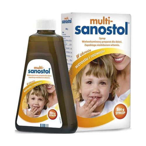 TAKEDA MULTI-SANOSTOL- Syrop 300g
