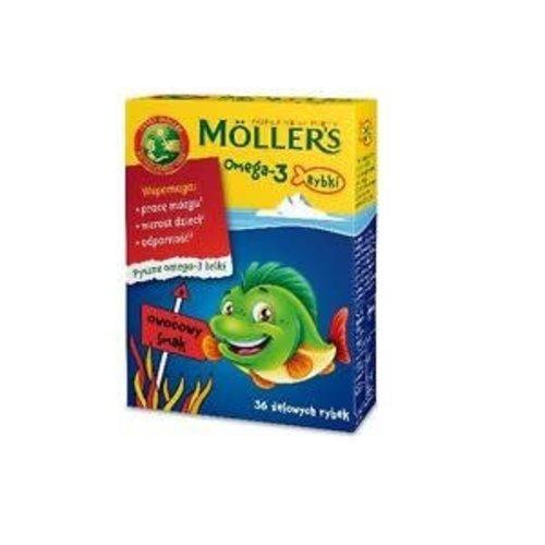 MOLLERS MOLLERS- Omega 3 Rybki 30 szt