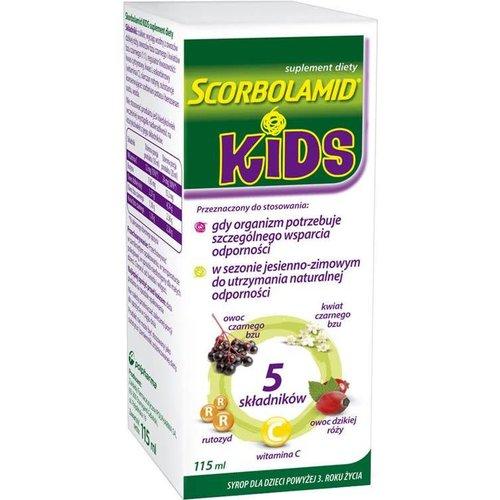 POLPHARMA SCORBOLAMID- Kids+ Syrop 115ml