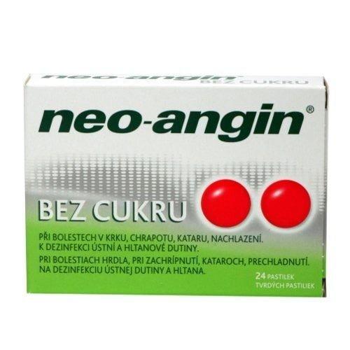 KLOSTERFRAU NEO-ANGIN- Tabletki Do Ssania Bez Cukru 24 tabl