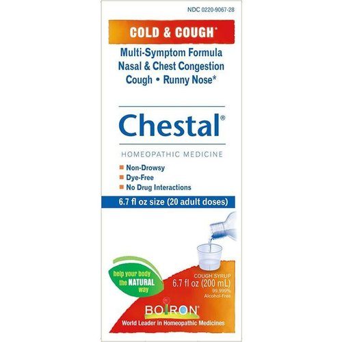 BOIRON CHESTAL- Cold And Cough Syrup 6.7oz