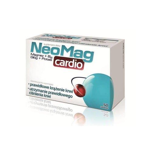 AFLOFARM NEOMAG- Cardio Magnez, Wit. B6, Glog, Potas 50 tabl