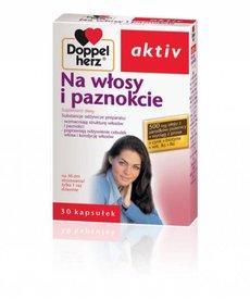 DOPPEL HERZ Doppel Herz Na Wlosy i Paznokcie 30 kaps