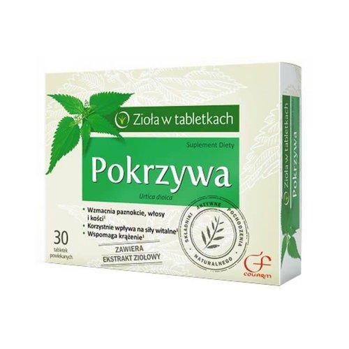 COLFARM POKRZYWA Ziola W tabletkach 30 tabl
