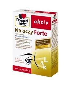 DOPPEL HERZ Activ Na Oczy Forte z Luteina i Borówką 30 kapsułek