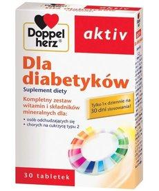 DOPPEL HERZ Activ Suplement Diety dla Diabetyków 30 tabletek