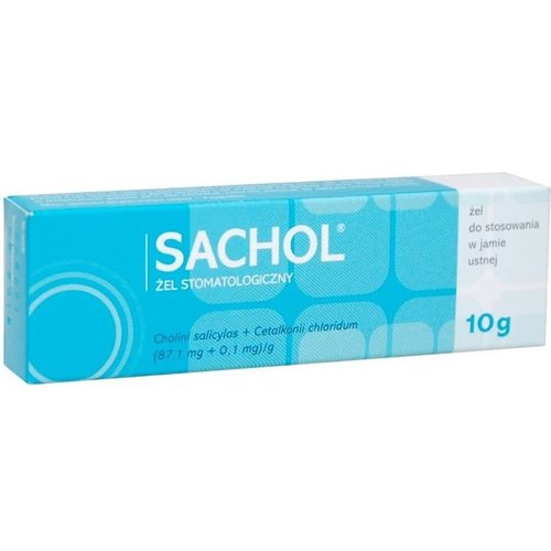 PharmaSwiss SACHOL- Zel Stomatologiczny 10g