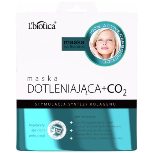 L'BIOTICA Maska Dotleniajaca +CO2 Na Tkaninie 23ml