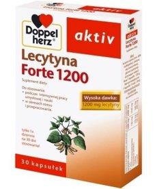 DOPPEL HERZ Activ Lecytyna Forte 1200 Dla Lepszej Koncentracji 30 kapsułek