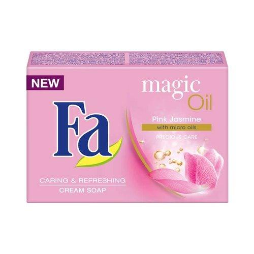 FA Magic Oil Pink Jasmine with Micro Oils Cream Soap 90g