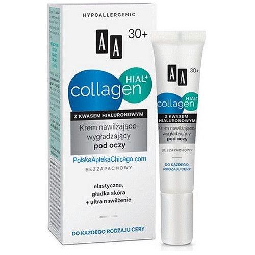 AA Hial Collagen Krem Nawilzajaco-Wygladzajacy Pod Oczy 15ml