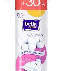TZMO SA BELLA  Cotton Płatki Kosmetyczne 80 szt