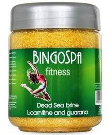BINGO SPA Solanka Fitness z Minerałami Morza Martwego  L-karnityna i Guarana550g