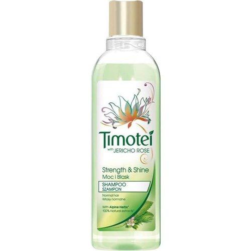 UNILEVER TIMOTEI With Jericho Rose, Moc i Blask Szampon Włosy Normalne 250 ml