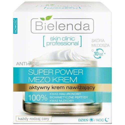 BIELENDA BIELENDA- Super Power Mezo Krem Nawilzajacy Dzien/Noc 50ml