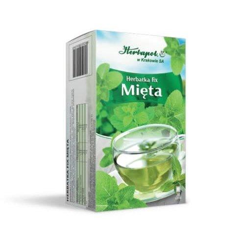 HERBAPOL Herbatka Fix Mieta 20 sasz