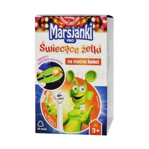 WALMARK MARSJANKI- Pro  Mocne Kosci 3+ Swiecace Zelki 50 szt